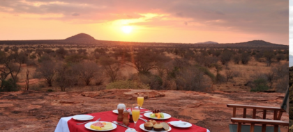 2-Day Mombasa to Tsavo West Overnight Safari