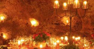 Romantic Dinner at Ali Barbour's Cave Restaurant