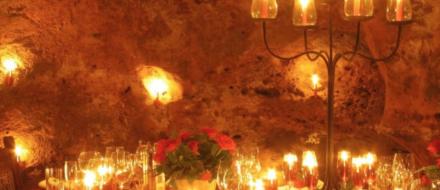 Romantic Dinner at Ali Barbour's Cave Restaurant