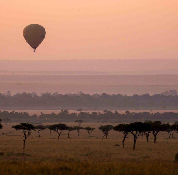 Hot Air Balloon Ride Over Maasai Mara